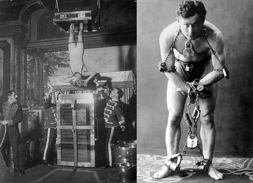the dangerous acts of harry houdini