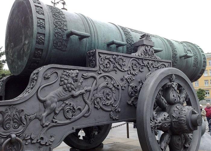 Царь пушка история