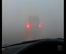 Очень густой туман в Мончегорске (5.356 MB)