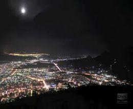 Невероятный вид фейерверков над городом в ускорении (2.033 MB)