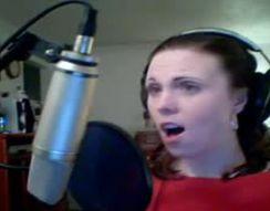 Девушка поет арию из фильма Пятый элемент (6.528 MB)