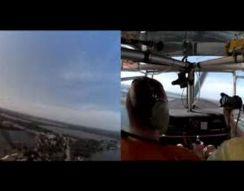Пилот посадил самолет на шоссе (11.608 MB)