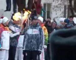 Олимпийский факел сгорел в Самаре (7.337 MB)