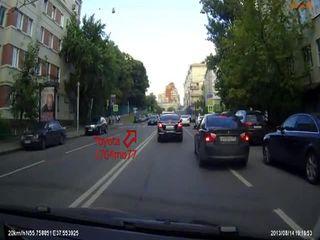 Разборка на пешеходном переходе (5.596 MB)