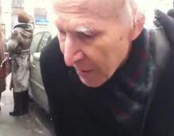 Дедушка на митинге (осторожно, мат!) (1.782 MB)