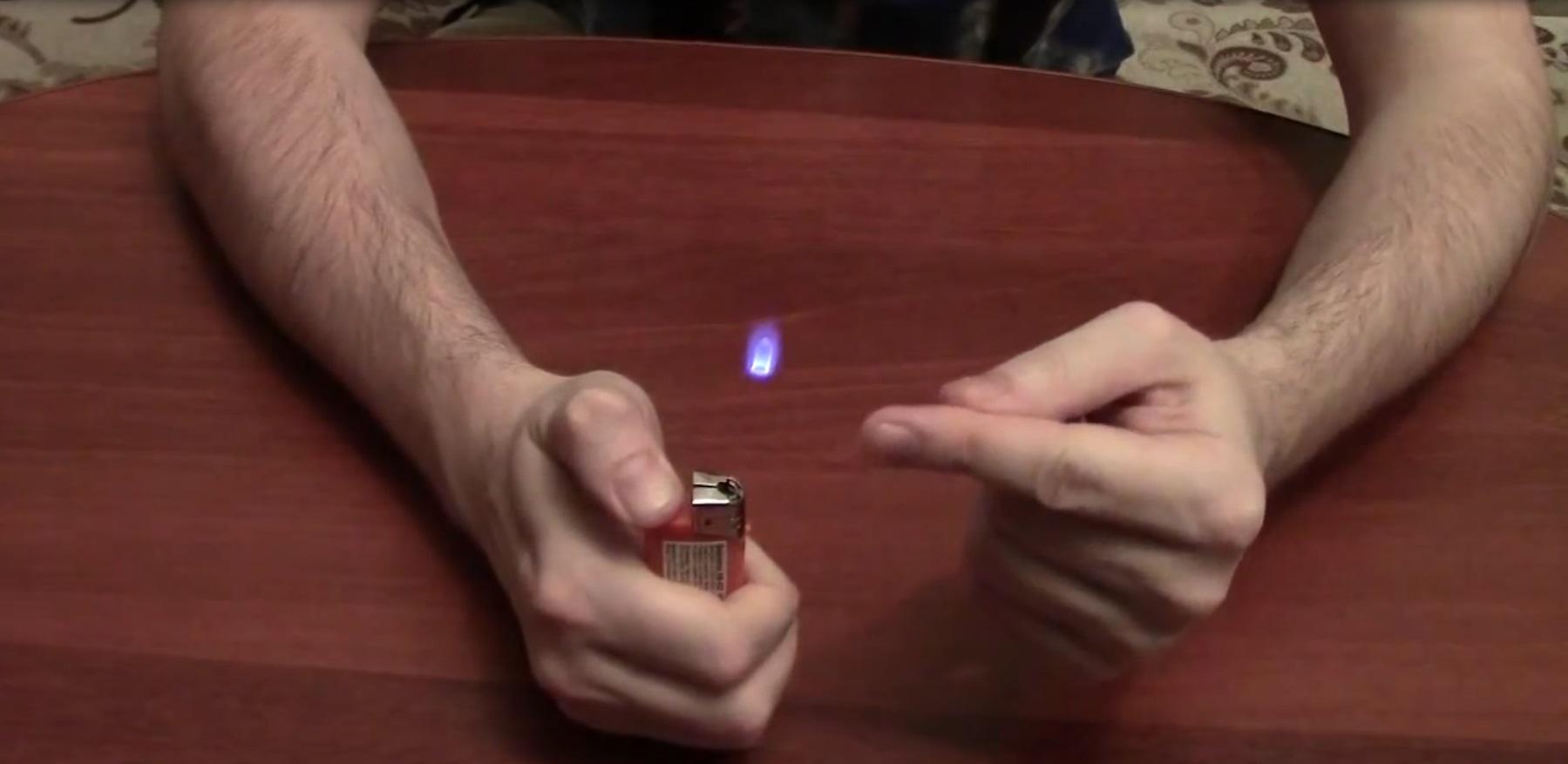Крутой фокус с летающим огнем (3.262 MB)