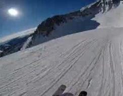 Катание профессионального горнолыжника от первого лица (9.254 MB)