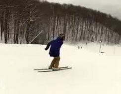 Жесткое падение на лыжах (1.728 MB)