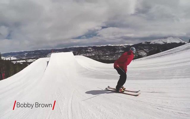 Классные трюки на лыжах (8.767 MB)