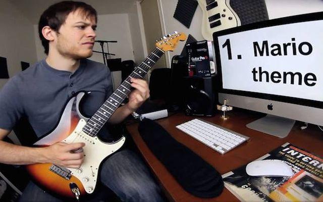 30 песен на гитаре за минуту (4.375 MB)