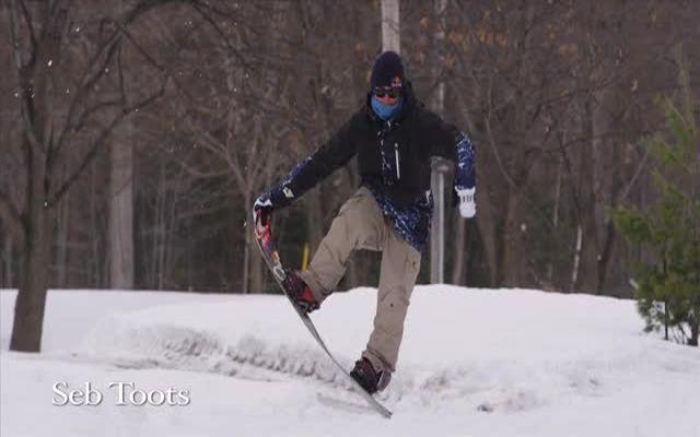 Крутые трюки на сноуборде (9.850 MB)