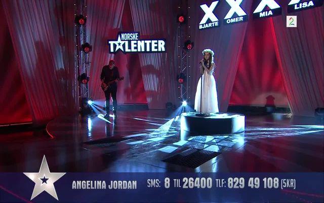 Девочка на норвежском шоу талантов (10.330 MB)