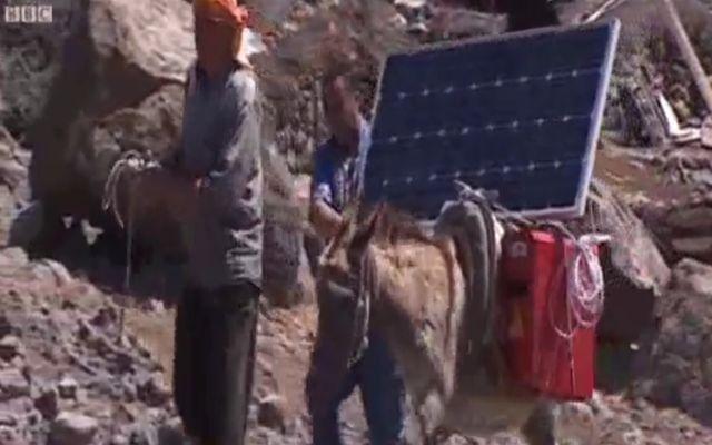 Осел и солнечные батареи (2.893 MB)