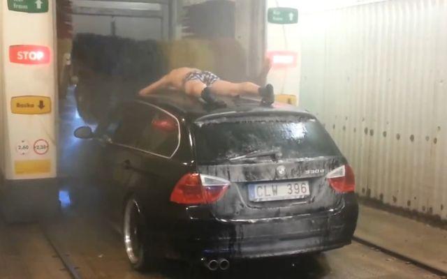 Помылся в автомойке (3.887 MB)