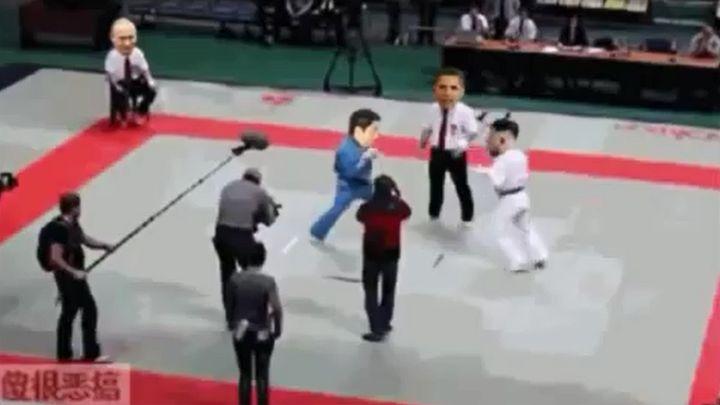 Забавный китайский ролик про лидера Северной Кореи (14.733 MB)