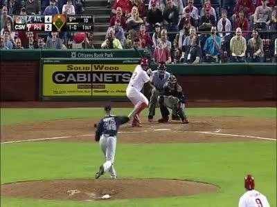 Фанаты издеваются над игроком в бейсбол (6.027 MB)