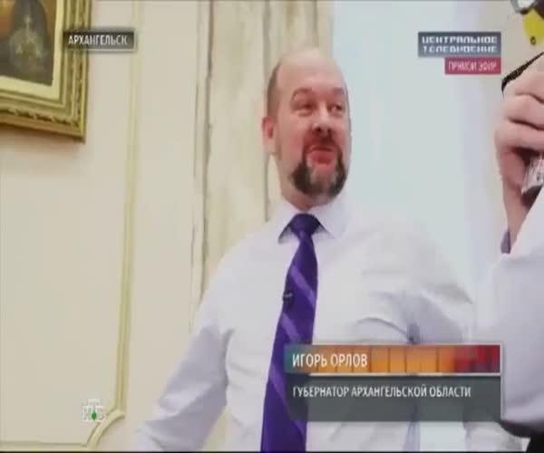 Губернатор Архангельской области откровенничает (3.054 MB)