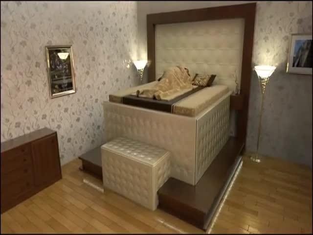 Кровать, которая защитит вас во время землетрсения (10.074 MB)