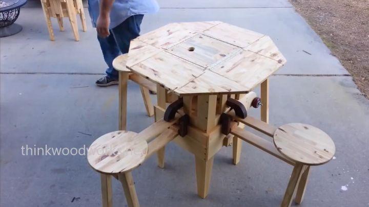 Классная идея столика для пикника (3.546 MB)