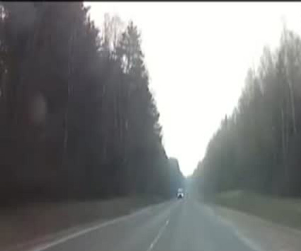 Погоня за мотоциклистом возле белорусского города Гродно (25.305 MB)