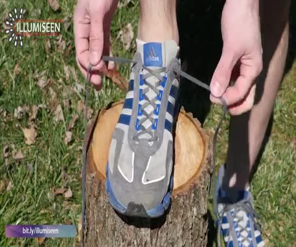 Как завязать кроссовки, чтобы избежать появления мозолей (8.770 MB)
