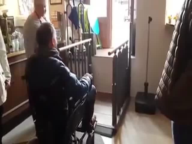 Лестница-пандус