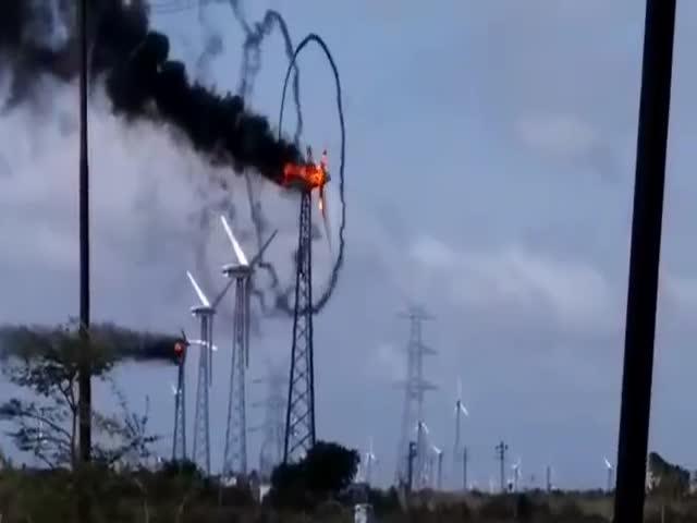 Возгорание
