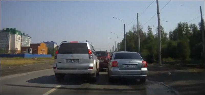 Два дурака на дороге