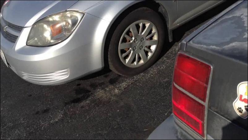 Как не потерять свою машину на большой парковке)