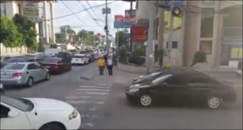 Не надо было выезжать на пешеходный переход