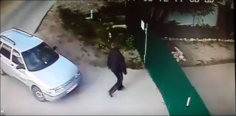 Не стоило пытаться прогнать собаку
