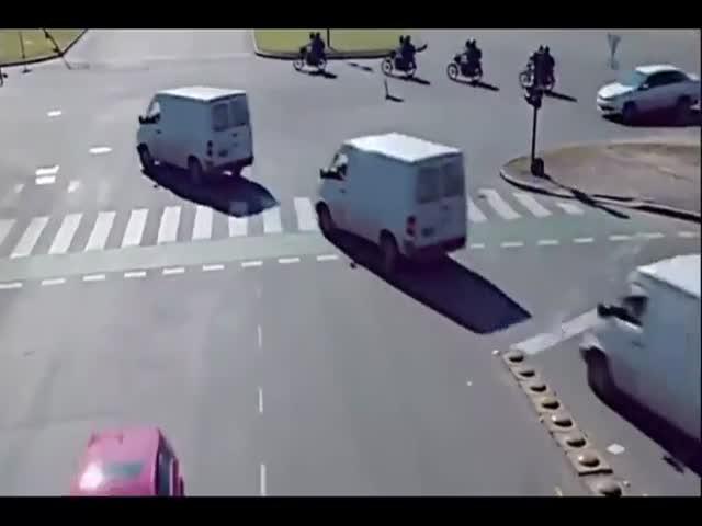 Если бы водители и пешеходы вели себя на дороге идеально
