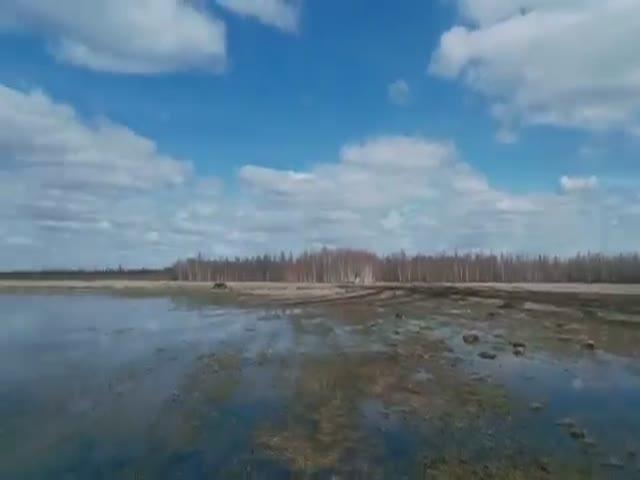 Не самая удачная охота на уток в Якутии