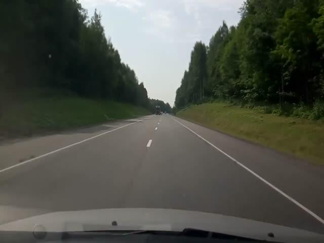 Не стоит отвлекаться от дороги во время вождения