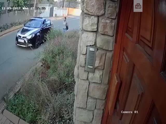 В ЮАР девушка не отдала грабителям сумку, в которой лежала ее диссертация