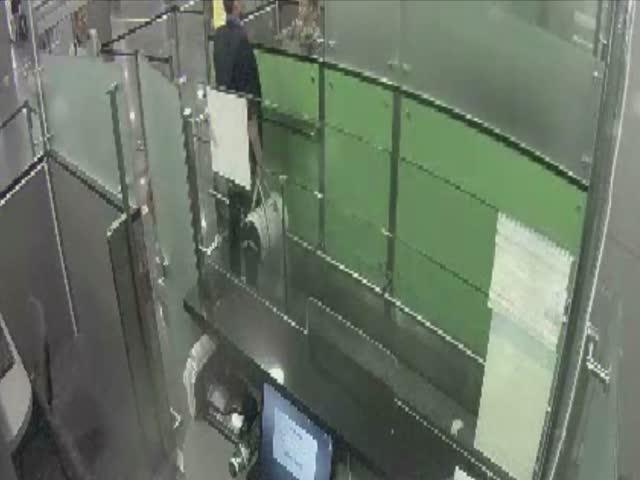 Попытка обойти паспортных контроль в аэропорту Киева Борисполь