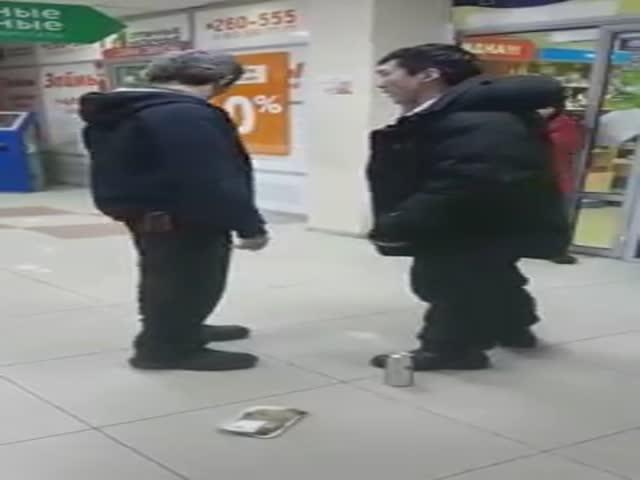 В Якутске парень ударил охранника за то, что тот заподозрил его в краже