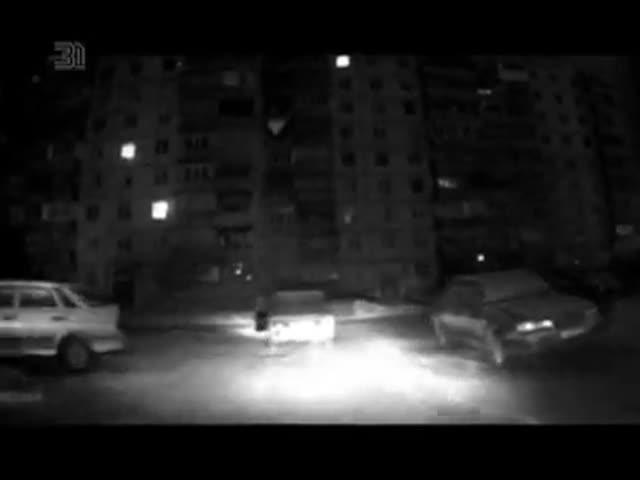 В Магнитогорске автоугонщик выпрыгнул из машины в попытке уйти от полиции
