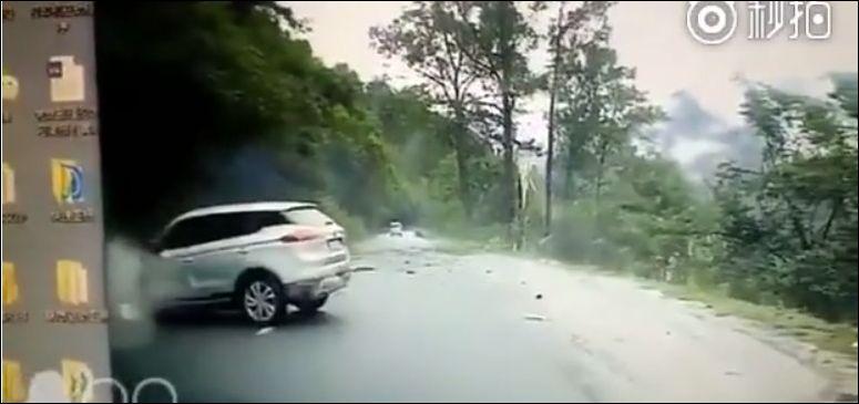 Об опасности поездок по горным дорогам