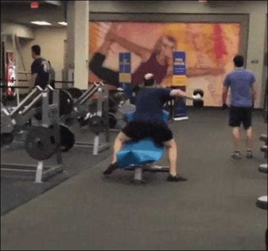 Секретная тренировка профессионального спортсмена