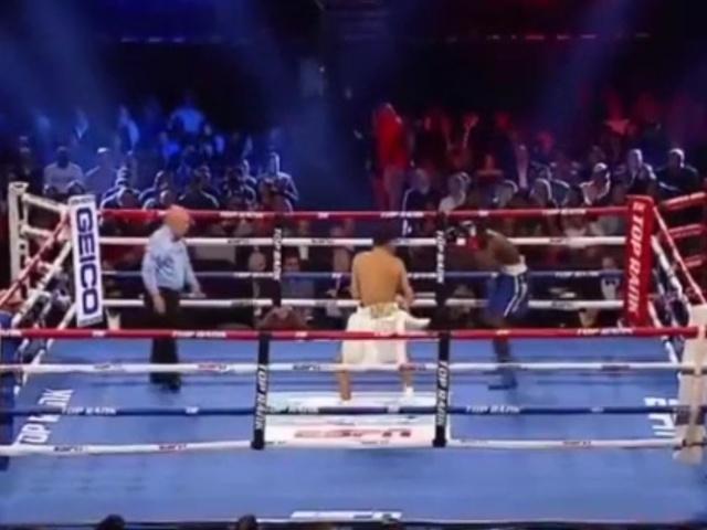 Не самый удачный дебют боксера на профессиональном ринге