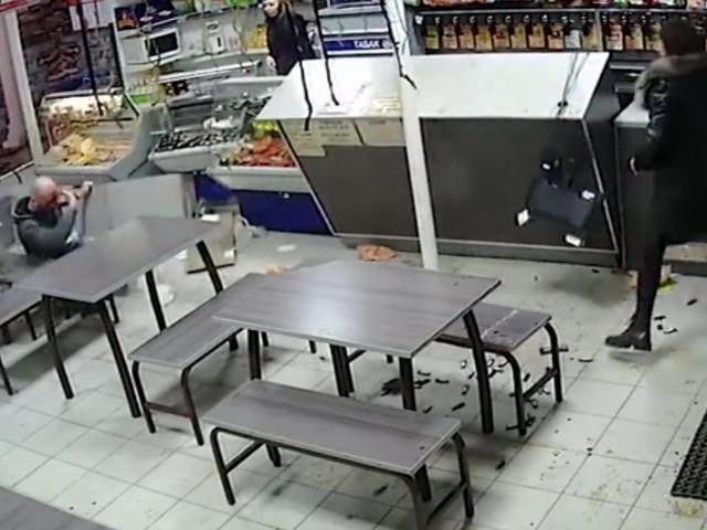 В Сызрани посиделки компании в кафе переросли в настоящий экшн