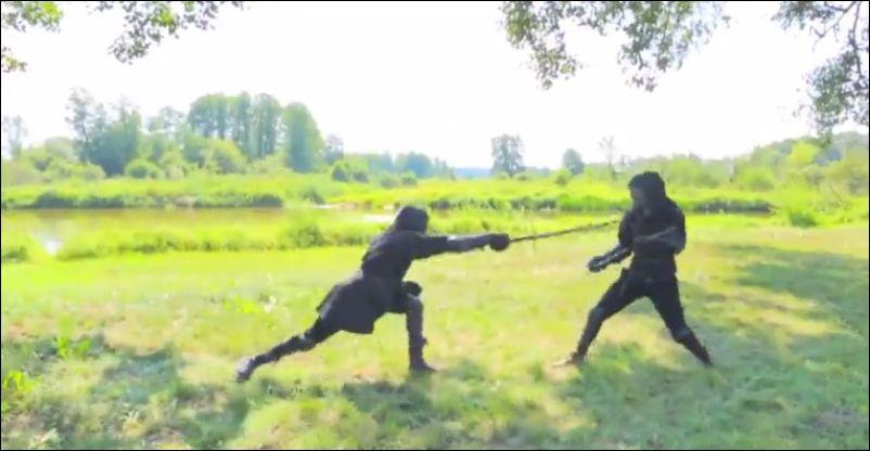 Как сражались на мечах в средние века