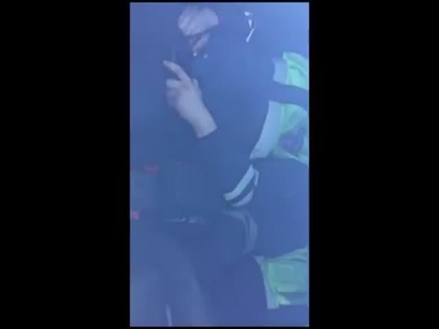 В Амурской области сотрудники полиции решили немного вздремнуть в машине