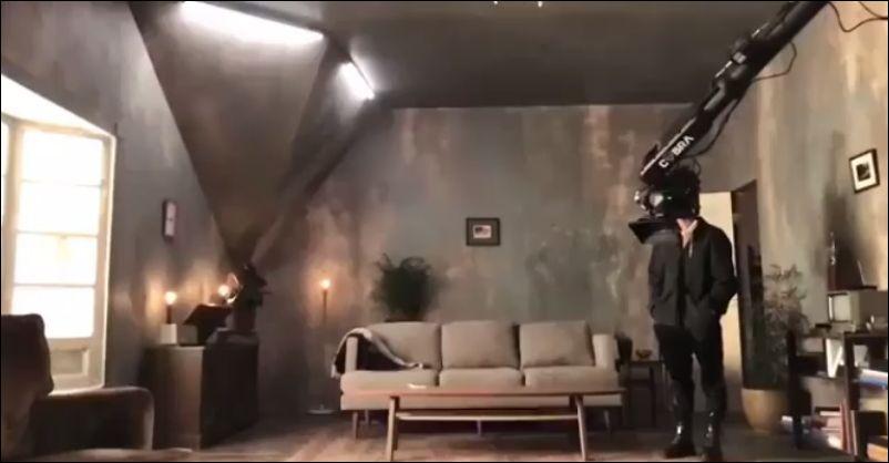 Как снимали эффектную сцену из клипа