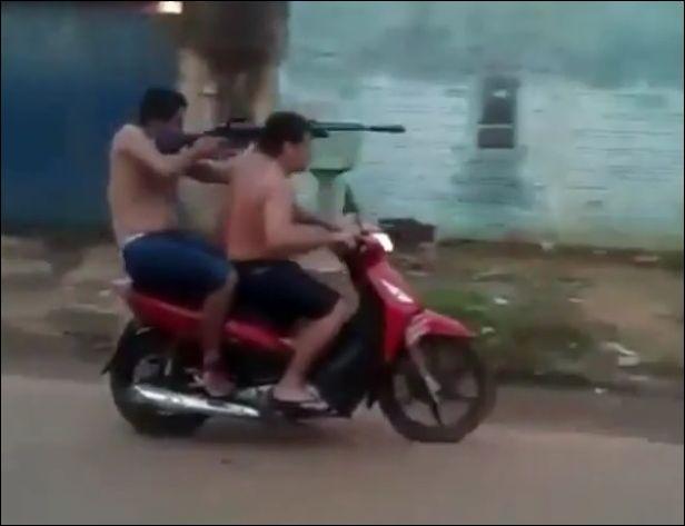 Со съемок низкобюджетного боевика