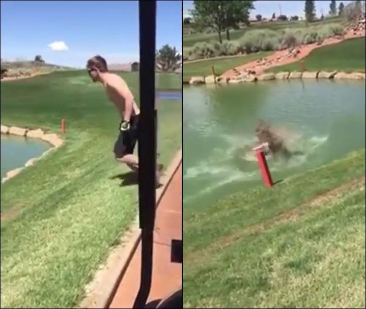 Не стоило прыгать в воду не изучив дно