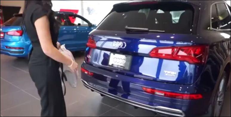 Инновационная система открытия багажника