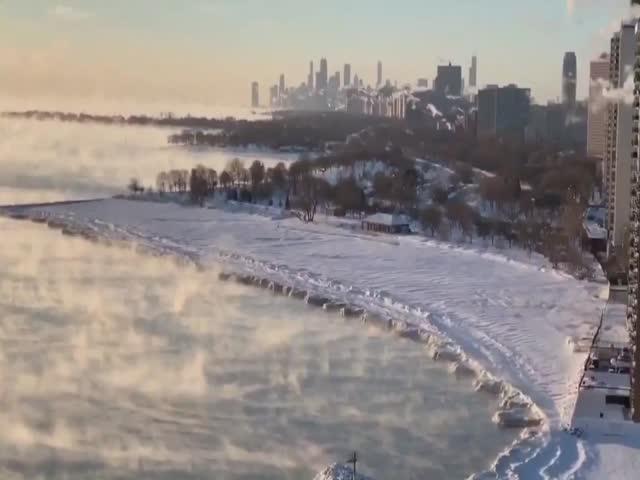 В Чикаго зафиксирован самый холодный день в истории с температурой минус 30