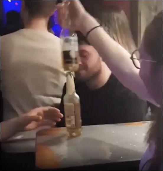 Шутка с бутылкой пива с неожиданным финалом